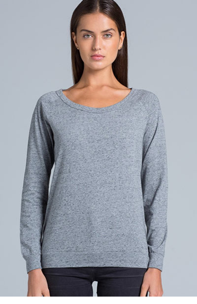 4016 Womens Slouch Crew