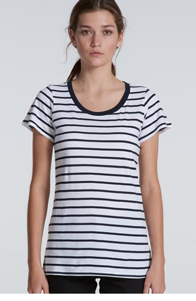 4023 Loop Stripe Tee