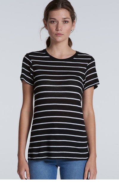 4025 Basic Stripe Tee