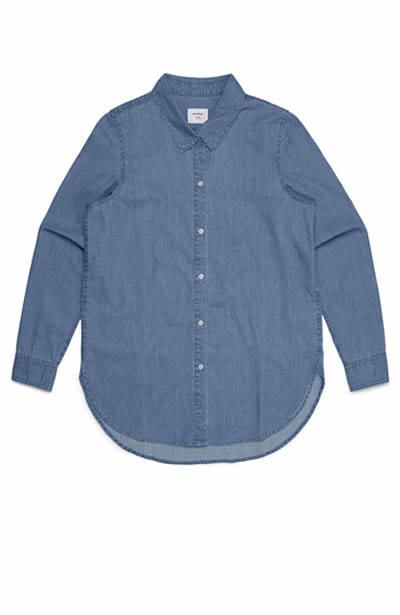 4042 Womens Chambray Shirt
