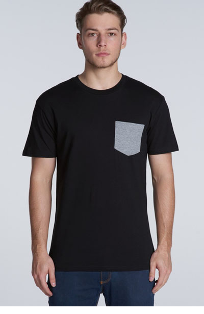 5010 Men's Staple Pocket Tee