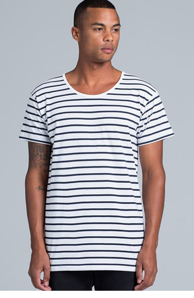 5024 Men's Wire Stripe Tee